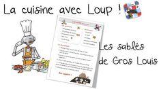 La cuisine avec Loup : Les sablés de Gros-Louis - Bout de gomme