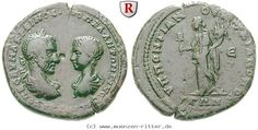 RITTER Moesia Inferior, Markianopolis, Macrinus, Diadumenianus, Liberalitas #coins