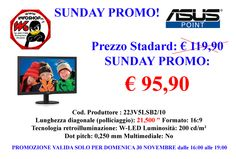 SUNDAY PROMO € 95,90 - www.infoshopsrl.it - Contatto x PROMO Cell. 338 8550883