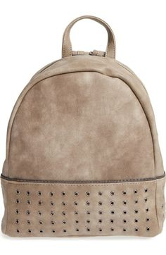 Sole Society 'Prescott' Grommet Faux Leather Backpack available at #Nordstrom