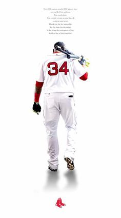 9a7692adb Big Papi - Boston Red Sox Red Sox Baseball