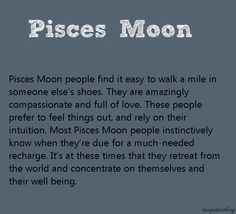 pisces moon sign personality