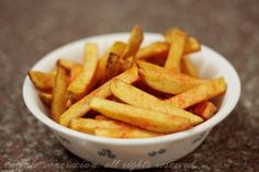 I love home cooked French fries! They are one of my favorite comfort foods, I have memories of coming home from school to hamburger pattie. Perfect French Fries, Cooking French Fries, Lemonade, Sauces, Hamburger, Carrots, Side Dishes, Appetizers, Potatoes