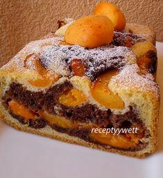 Marhuľový koláč z pekárničky (fotorecept) - recept | Varecha.sk Cheesesteak, French Toast, Baking, Breakfast, Ethnic Recipes, Sweet, Nova, Kitchen, Basket