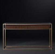 Kennan Tables & Trunks Collection-Walnut | RH Modern