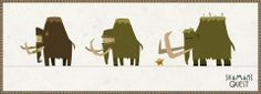 Concepts of the mammoth #character #concept #animation #mammoth #elephant
