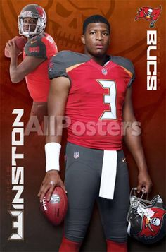 Tampa Bay Buccaneers- Jameis Winston 15 People Poster - 56 x 86 cm Bay  Sports. Bay SportsHome TeamWall PostersNfl ... 2c6110213