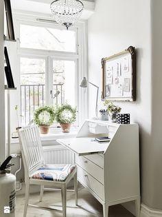 Skandynawskie miejsce do pracy - zdjęcie od MartaWieclawDesign - Gabinet - Styl Skandynawski - MartaWieclawDesign