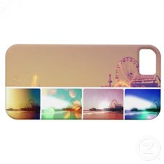 Use Code SPRINGGADGET for 20% OFF! Santa Monica Pier Photo Collage iPhone 5 Cover