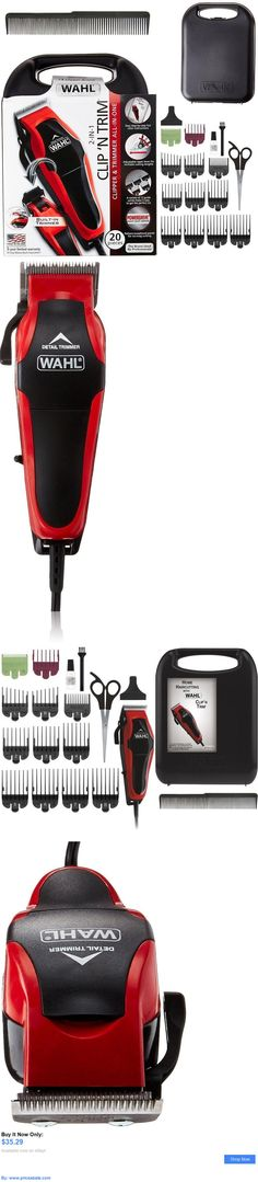 health and beauty: Wahl Professional Hair Cut Trimmer 20 Pcs Set Shaving Machine Clipper Barber New BUY IT NOW ONLY: $35.29 #priceabatehealthandbeauty OR #priceabate