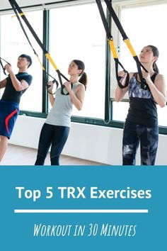 Looking for a quick home workout to eliminate boredom? Try this TRX workout for beginners. Trx Ab Workout, Trx Full Body Workout, Trx Abs, Planet Fitness Workout, Workout Guide, Yoga Fitness, Health Fitness, Exercise Cardio, Exercise Routines