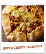 Get this fun and easy Beef & Cheese Foldover #recipe for a delicious dinner! #cookingupgood