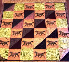 dog quilt by DragonflyQuilts, via Flickr