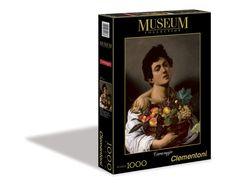 Clementoni 39178.3 - Puzzle de 1000 piezas, diseño de Niño con un cesto de frutas de Caravaggio: Amazon.es: Juguetes y juegos