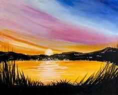 Island City sunset