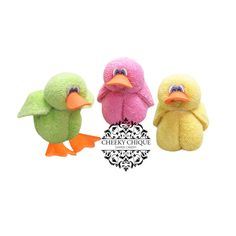 Washcloth Ducklings by Cheeky Chique Baby, $4.49