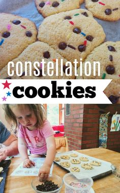 Fantastic preschool science activity from Rosie Research, these constellation cookies takes something far up in the sky and puts them into hungry bellies!