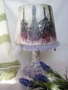 """Освещение ручной работы. Ярмарка Мастеров - ручная работа Лампа """"Аромат лаванды"""". Handmade."""