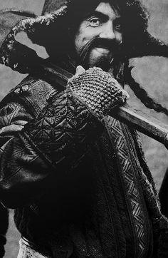 Bofur. My favorite dwarf. Besides Fili and Kili. And Thorin. And Balin. And Ori. And Dori. <3