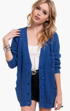 love the color of that cardi