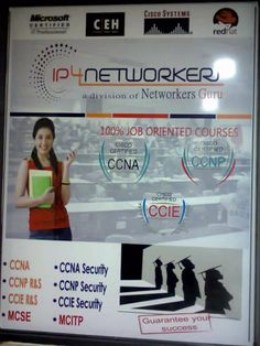 CCIE (Cisco Certification Internetwork Expert) Security program delivers the best of most qualified networking experts in the industry. Their job is to provide security to the networks. For more details visit now: http://www.ip4networkers.com/