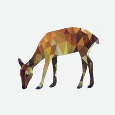 "Saatchi Art Artist Kamilla Marant; New Media, ""deer"" #art"