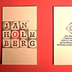Suunnittelin ja tein uudet #käyntikortit . Sain käsityönä tehdyt ja uniikit kortit, kuten halusinkin. Mitä pidät? I designed and did my new #business cards to get unique ones, all handmade. What do you think? #DIY #diytrends #design #original #unique #business #cards #happy #käsityö #käyntikortti #uniikki #iloinen