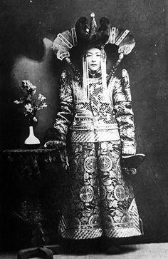 A Mongolian aristocrat, 19th century