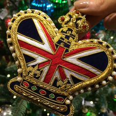 England Christmas Ornament - What Would Kate Do? - The Life & Style of Catherine, Duchess of Cambridge