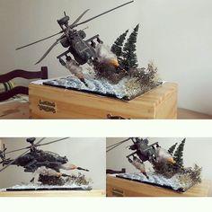 "Wow!!! AH-64 ""Apache"" Fighter Helicopter. Unknown modeler #scalemodel #plastimodelismo #plasticmodel #diorama #scalemodelkit #plastimodelo #miniature #miniatur #miniatura #hobby #diorama #apache #maqueta #maquette #modelismo #modelisme #modelism"