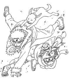 Free Print Naruto Coloring Pages