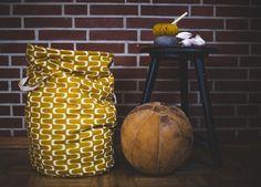 Nähanleitung für einen Stoffkorb mit Einsatz und Kordelzug › BERNINA Blog