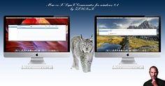 Mac os X LynX for Wındows 8.1 by ZEUSosX