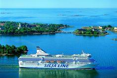 Mit #TallinkSilja in die Schärenlandschaft von #Turku #Finnland © Tallink Silja Oy/ AS Tallink Grupp - http://www.nordicmarketing.de/die-wohl-schoenste-fahrradstrecke-europas-der-archipelago-trail-bei-turku/
