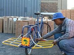 Re-Cycle Bikes to Africa The XtraBike Load Carrier