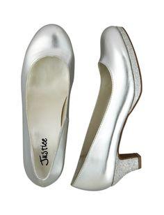 Glitter Kitten Heels | Casuals & Flats | Shoes | Shop Justice. I love hi heles.