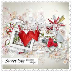 скрап-набор ко дню святого валентина - Самое интересное в блогах