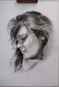 Pencil Realistic Portrait Drawing