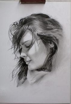 Pencil Realistic Portrait Drawing