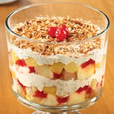 Piña Colada Trifle - The Pampered Chef®, does it GET any yummier than this!?!?!