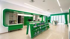 Pharmacy by Zouridakis Architects, Gazi Crete, Greece pharmacy office healthcare