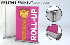 Roll-up 200x300 cm - verkrijgbaar bij drukkerij ZwartOpWit
