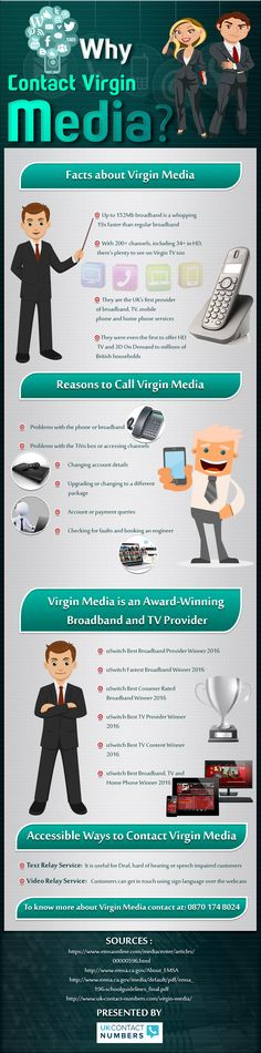 Get The Best #Broadband And #TVServices With #VirginMedia – #Infographic