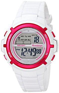 Armitron-Sport-Womens-457045-Digital-Resin-Strap-Watch