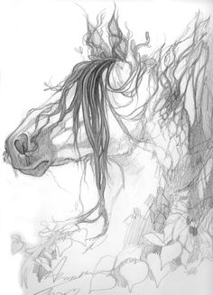 Tree Horse Sketch by ~Aikya on deviantART