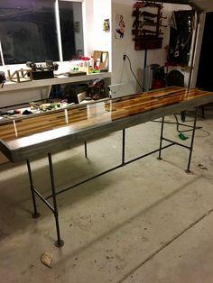 Scrap-wood Table