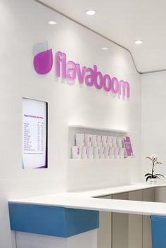 An Original Frozen Yogurt Shop in Manhattan: Flavaboom