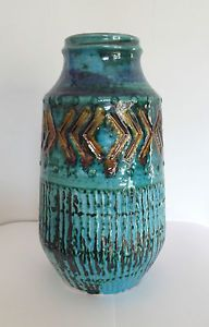 Groovy 1970s Carstens West German vase