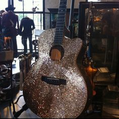 guitar of my dreams -- saw it at two old hippies in nashville -- due to price probably gonna bedazzle my own haha