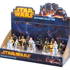 Chaveiros Star Wars 24 Peças - Multikids